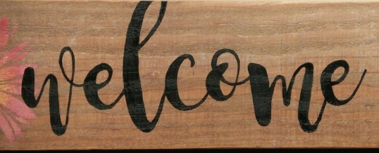 Rustic Welcome Sign-DIY Workshop-January 19th!